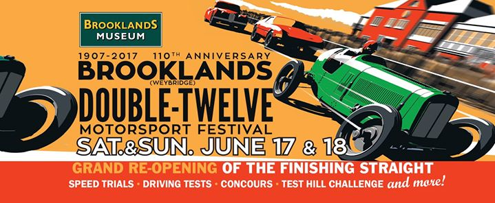 Video Of 2017 Double Twelve Motorsport Festival at Brooklands Museum Weybridge Surrey