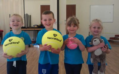 Fun Tennis Classes For Toddlers & Young Children In Weybridge On Tuesdays
