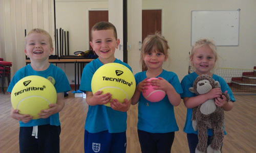 Fun Tennis Classes For Toddlers Young Children In Weybridge On