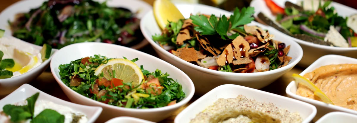 Caterers For Weddings, Parties & Events - Cold Mezze by Meejana Lebanese Restaurant & Bar Weybridge Surrey & London
