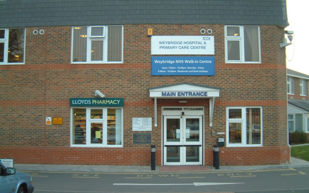Weybridge NHS Health Services News Following Fire At Community Hospital & Health Centre