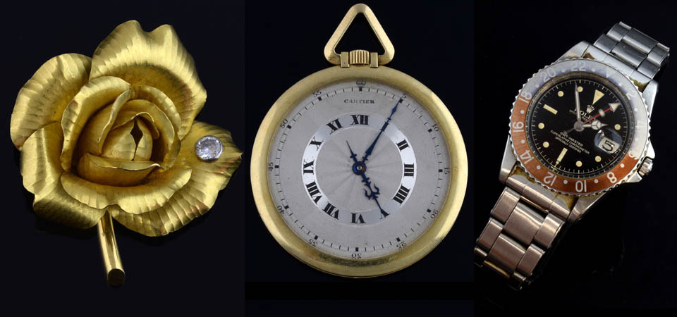 Jewellery, Silver & Watches Auction – Send near Woking Surrey