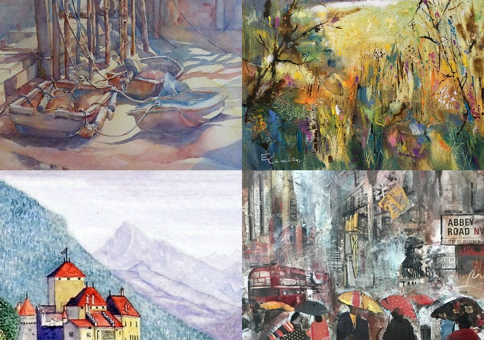 Art Exhibition By North Surrey Artists Group At Barbers Gallery