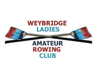 Weybridge Ladies Amateur Rowing Club WLARC - River Thames Tow Path Walton Lane