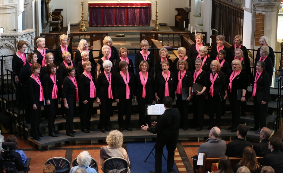 Treble Clef Christmas Carol Concert at St James Church, Weybridge, Surrey