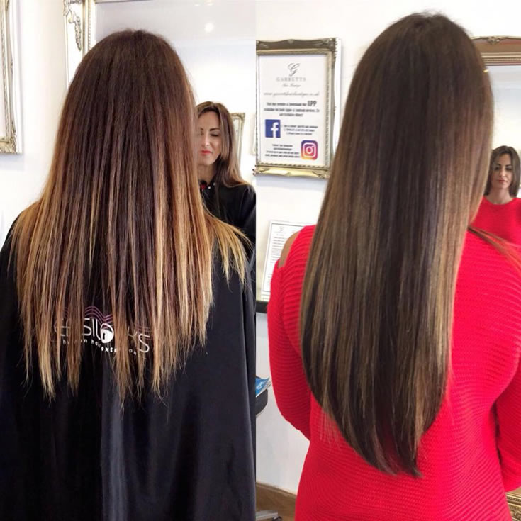 Before & After! What an Amazing Difference Just 40 Strands Of Easilocks Can Do! By Senior Stylist Megan