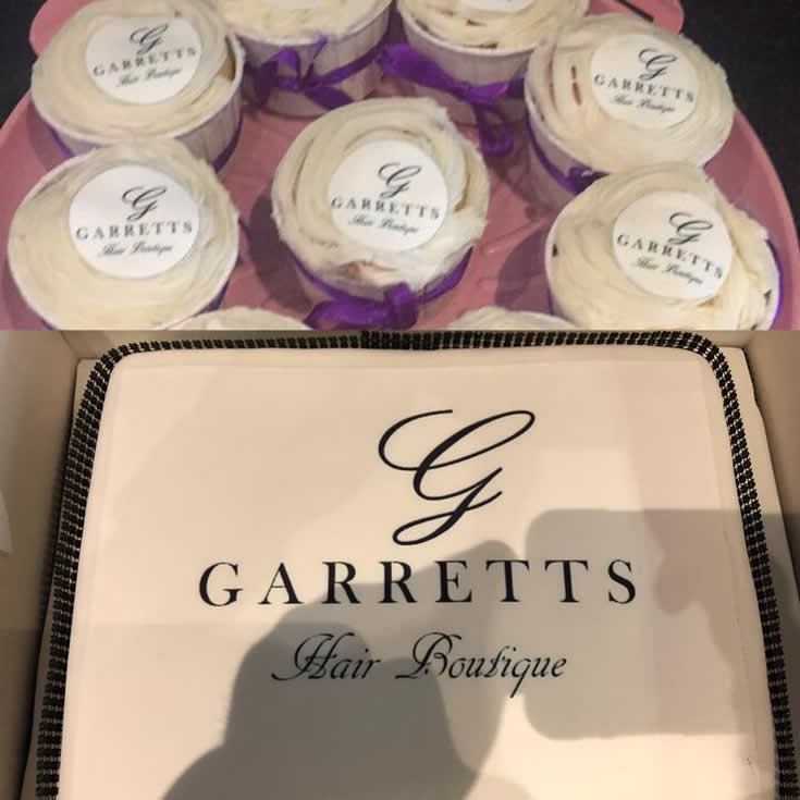 Garretts - Cake fo Launch Party