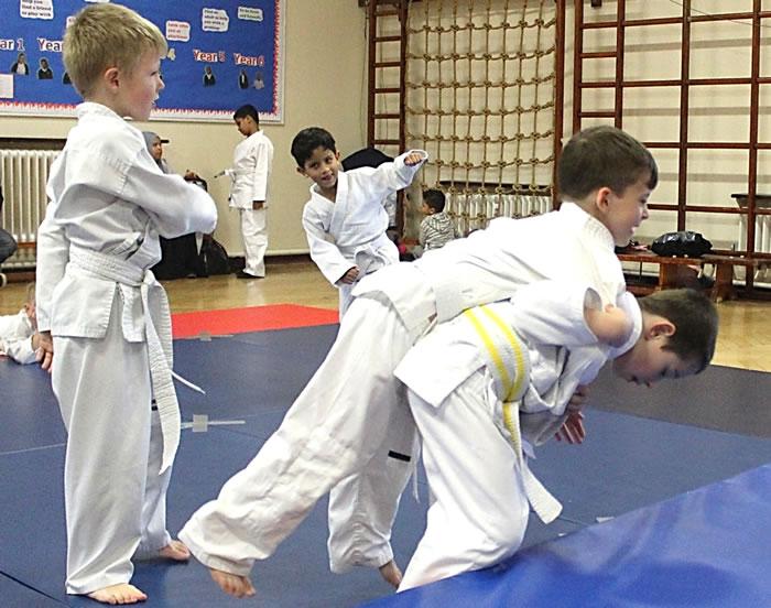 Judo Classes for Boys & Girls at Walton Shepperton and Cobham Elmbridge Surrey