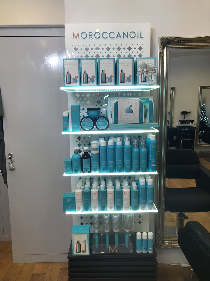 Morrocan Oil - Gifts / Products Display