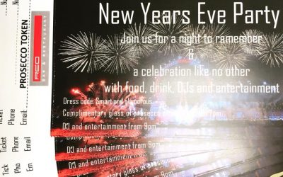 New Years Eve Party at Red Bar & Restaurant Weybridge