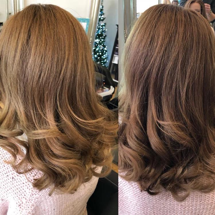 Stunning Color, Cut & Style By Garretts Weybridge Hair Salon Director Lewis