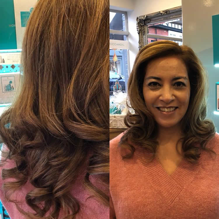Stunning Hair Created By Salon Director Lewis