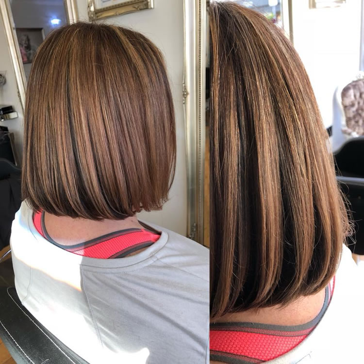 Stunning, Just Stunning! Color, Cut & Style By Salon Director Lewis