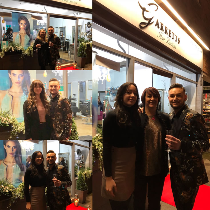 Garretts Hair Boutique - Salon owners Dawn and Lewis and Stylists