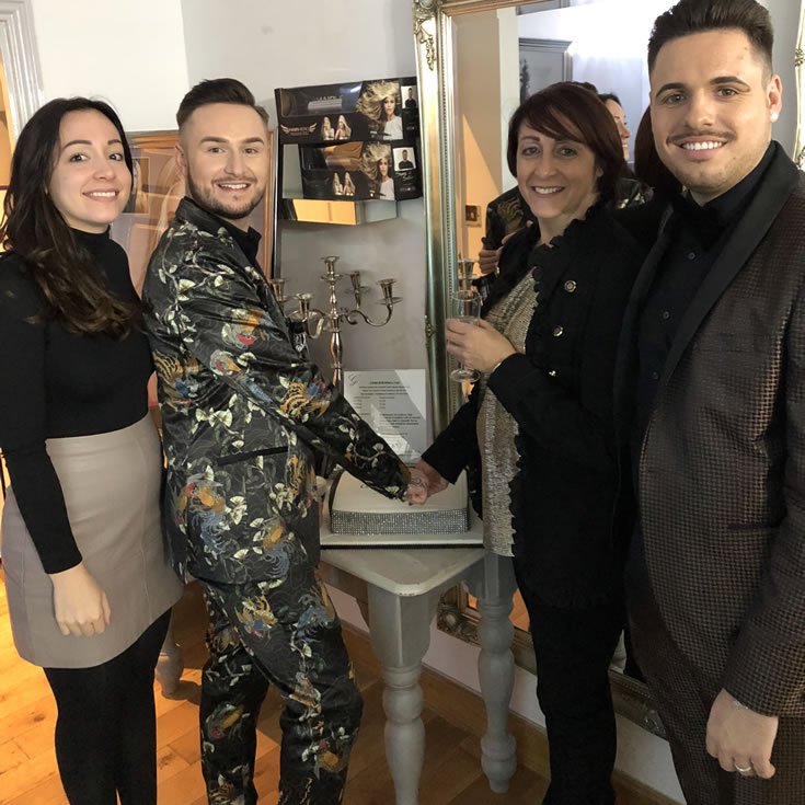 Garretts Hair Boutique Launch Party - Salon owners Dawn and Lewis Garrett-Ward and Stylists