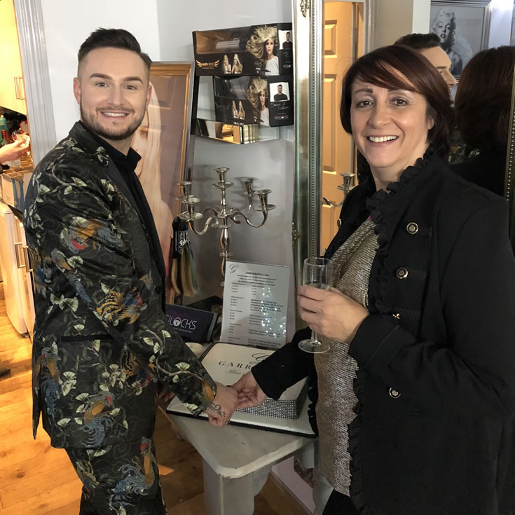 Garretts Hair Boutique - Salon owners Dawn and Lewis