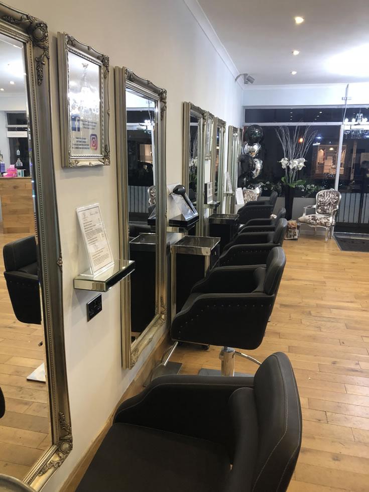 Garretts Weybridge - hair salon December 2017