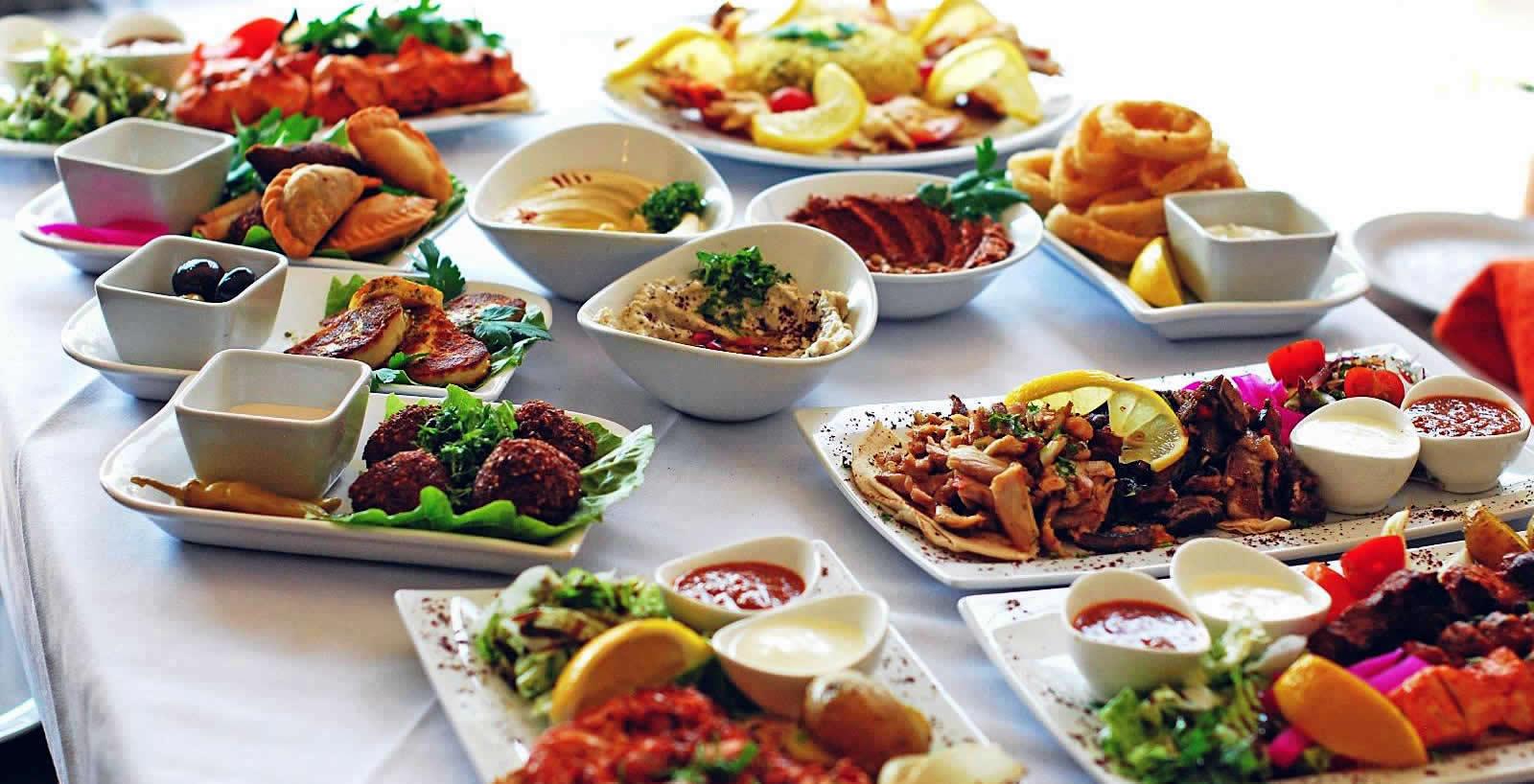 Lebanese Supper Club at Mazzat Restaurant Weybridge - fundraising for Elmbridge Rentstart Charity