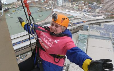Spinnaker Tower Abseil – In Aid Of Princess Alice Hospice – Esher Surrey Charity