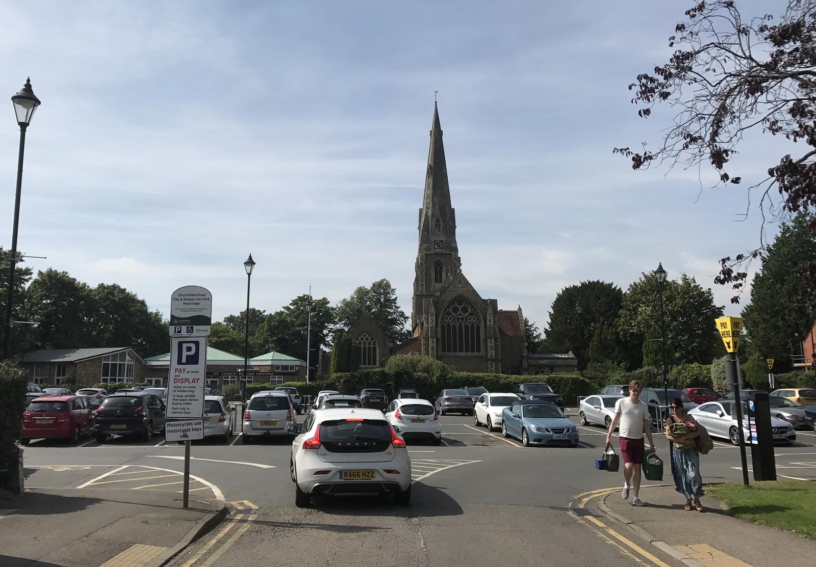 One Public Estate Feasibility - Weybridge Library