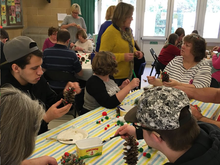 Elmbridge Community Link Arts and Crafts Walton Hersham Molsesy and Esher Events for Disabled Or Special Needs