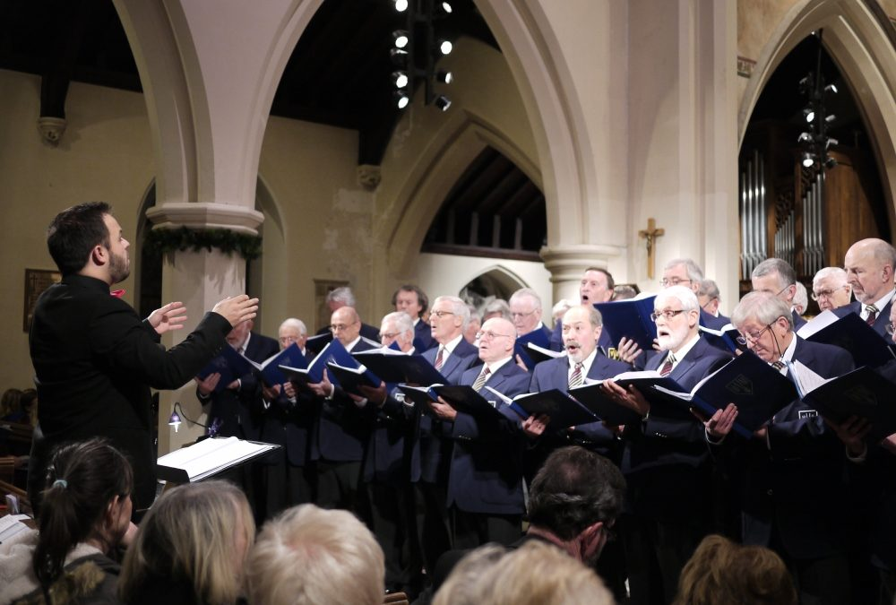A Grand Charity Performance In Shepperton by the Weybridge Male Voice Choir