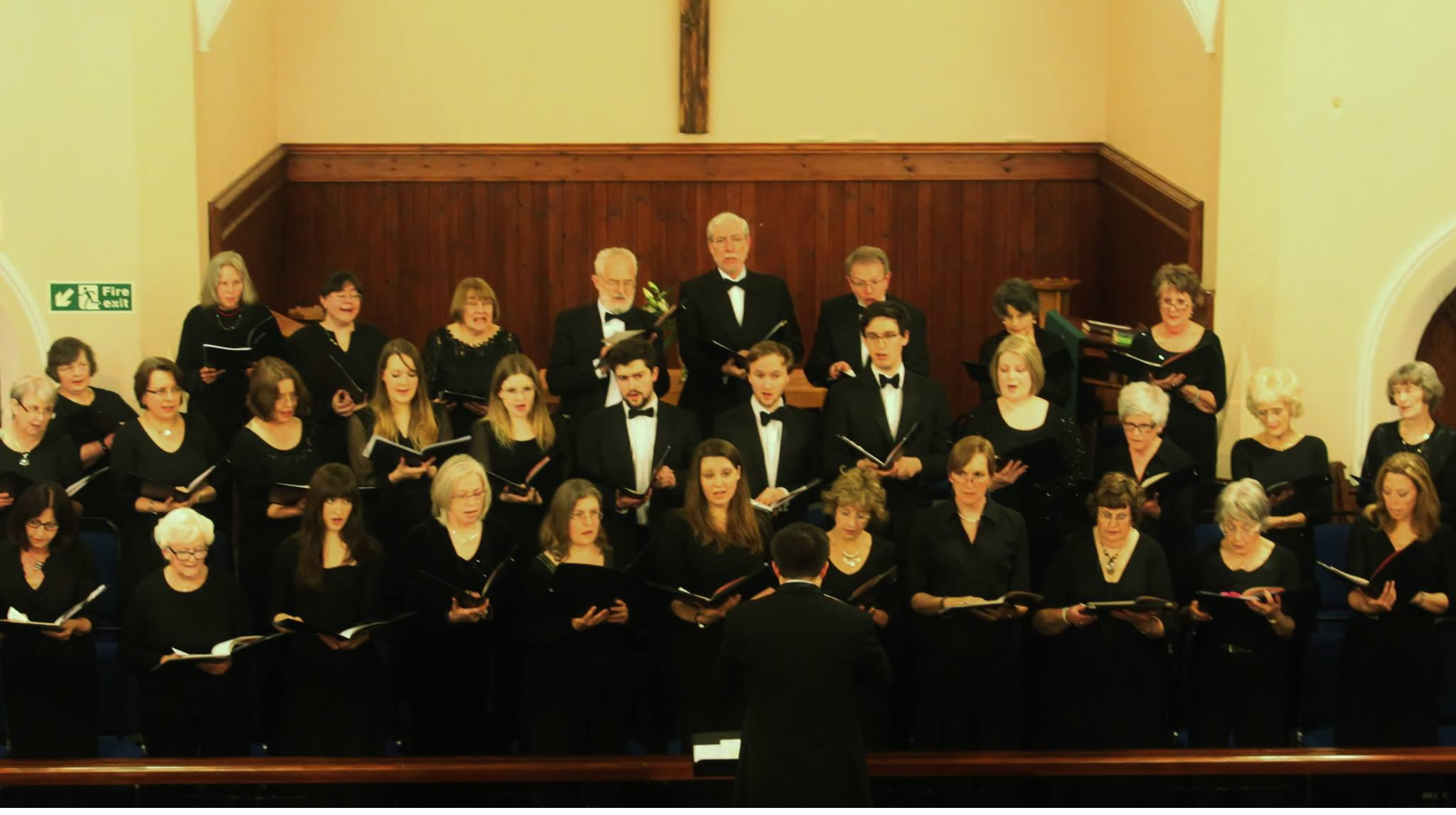 Walton Voices Choir concert in Oatlands Church, in support of Marine Conservation Society