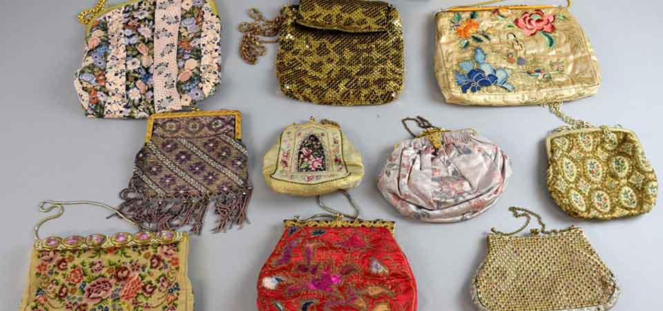 Vintage Bags Collection - Vintage Fashion & Textiles Auction in Surrey