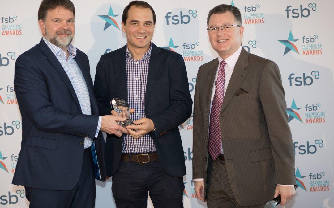 FSB Innovation Award For Bruce's Doggy Day Care