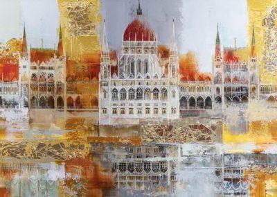 Budapest Parliament by Veronika Benoni