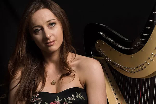 Saturday March 17th 2018 – A St Patricks Day Harp Concert with Seana Davey