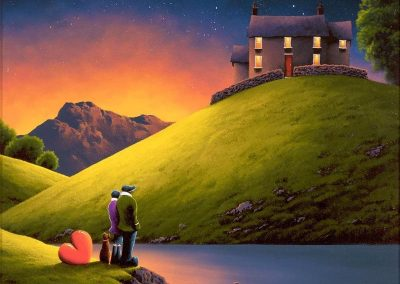 Love Lake by David Renshaw