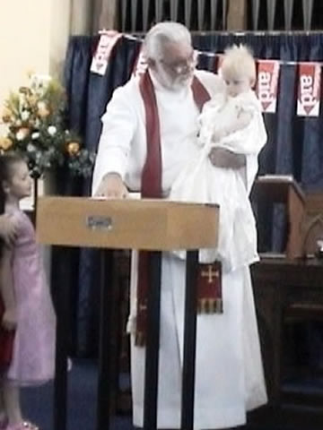 Baptisms at Weybridge United Reformed Church