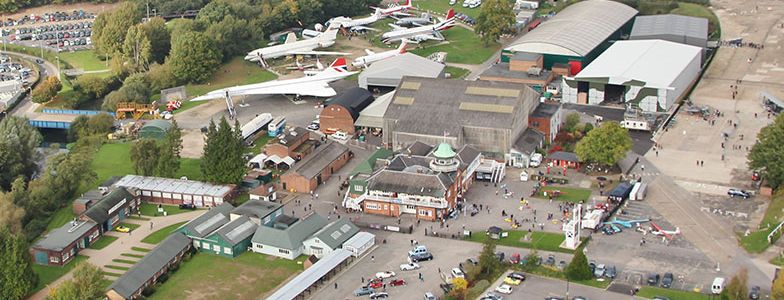 Brooklands Musuem Aerila View