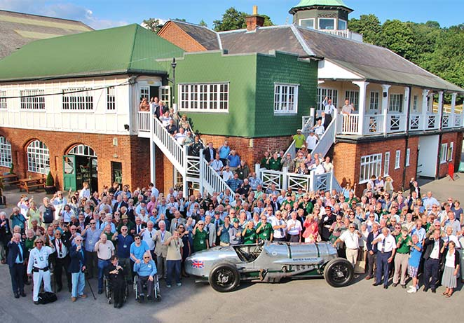 Brooklands Museum Volunteering - volunteer activies at Weybridge based mome of British Aviation and Motor Sport