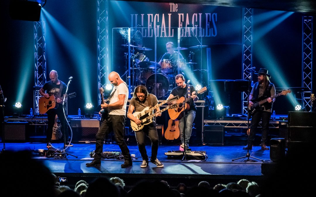 World's Top Eagles Tribute Band – Illegal Eagles In Concert at GLive Guildford Surrey