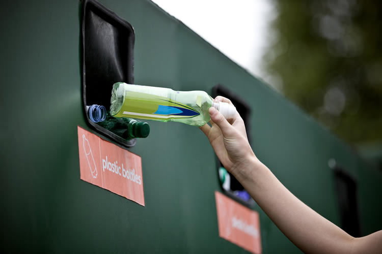 Recycling Bank Weybridge Surrey