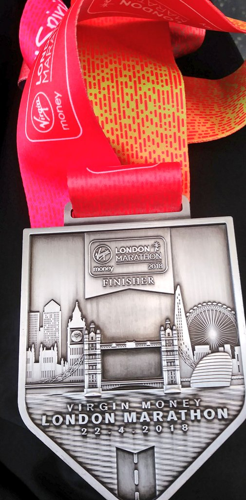 Virgin Money London Marathon Finishing Medal