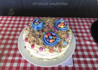 Alice In Wonderland - Mad Hatters Tea Party Celebration Cake - Great Weybridge Cake Off 2018