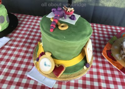 Alice In Wonderland Tea Party Celebration Cake - Childrens Section - Great Weybridge Cake Off 2018