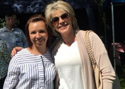 Anna Stasiak of Annas Sugarcraft with Ruth Langsford - Weybridge Cake-Off Photos 2018