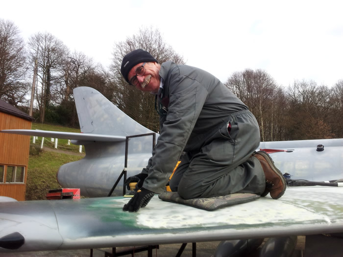 I have been a volunteer at Brooklands Museum Weybridge for nearly a decade