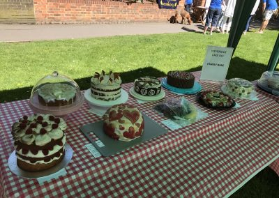 Family Bake Table - Cakes in The Great Weybridge Cake Baking Competition 2018
