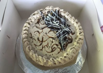 Family Cake with Shards of Chocolate in Weybridge Surrey Baking Competition 2018