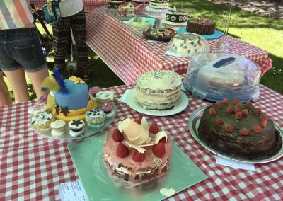 Family Cakes in Weybridge Surrey Baking Competition 2018
