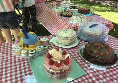 Family Cakes in Weybridge Surrey Baking Competition 2018