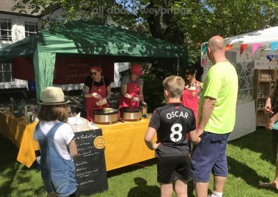 Flipping Amazing - Crepes and Galettes - Stall at the Artisan Market on Monument Green Weybridge Surrey