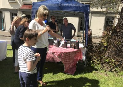 Junior Winner of Small Bakes Competition speaks with Ruth Langsford about Pug dog shaped cakes