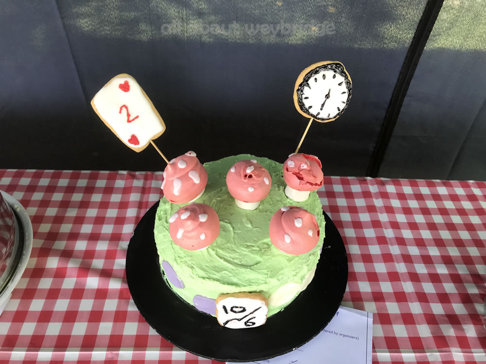 Mad Hatters Tea Party Celebration Cake - Great Weybridge Cake Off 2018