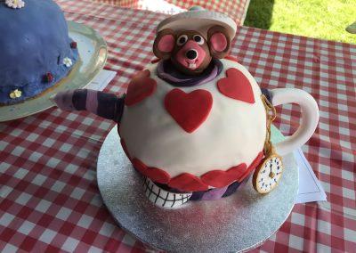 Mad HattersTea Party - Alice In Wonderland - Celebration Cakes - Great Weybridge Cake Off 2018